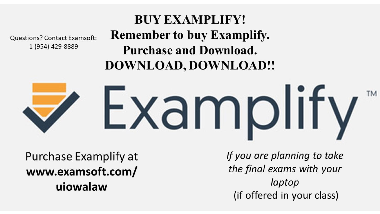 Examplify purchase | Signage